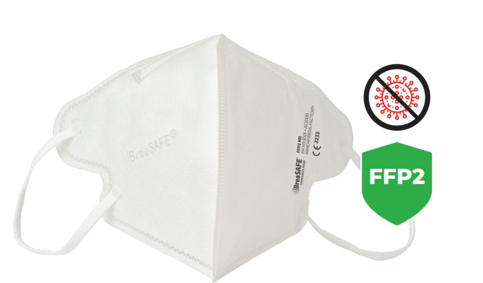 Respirátor BreaSAFE® COMMUNITY MASK FFP2 | 5ks