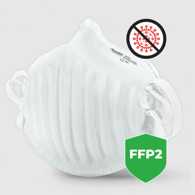 Respirátor FFP2 BreaSAFE® ANTI-COVID-19 | 3ks